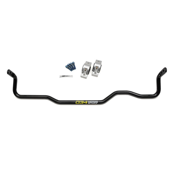 034Motorsport Adjustable MQB Solid Rear Sway Bar Upgrade, Mk7 Volkswagen Golf R, 8V Audi A3/S3 Quattro, & MkIII Audi TT/TTS