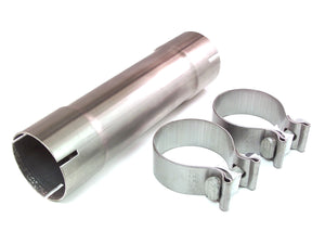 Euro Sport 2.5in Stainless Steel Slip Connector