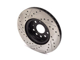 StopTech 127.33098  Hi-Carbon Drilled & Slotted Rotors