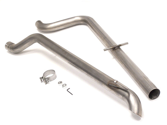 Euro Sport Race Exhaust System - VW Mk4 TDI/1.8T with Hidden Tip