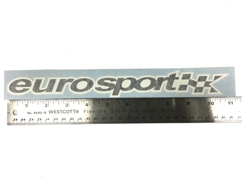 "Euro Sport 11"" Decal"