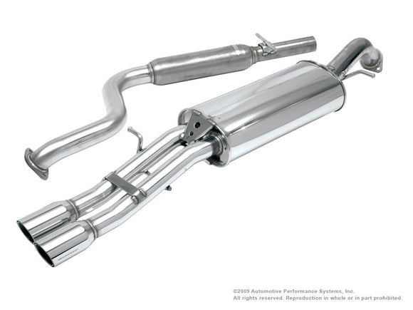 NEUSPEED Stainless Steel Cat-back Exhaust - VW Jetta Mk4 1.8T/ 2.0L/ VR6 without bumper cut-out