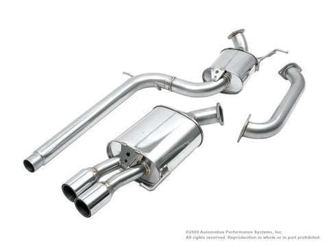 NEUSPEED Stainless Steel Cat-Back Exhaust - VW Mk5 Jetta 2.5L