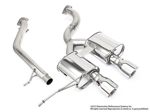 NEUSPEED Stainless Steel Cat-back Exhaust - VW Mk6 Golf R