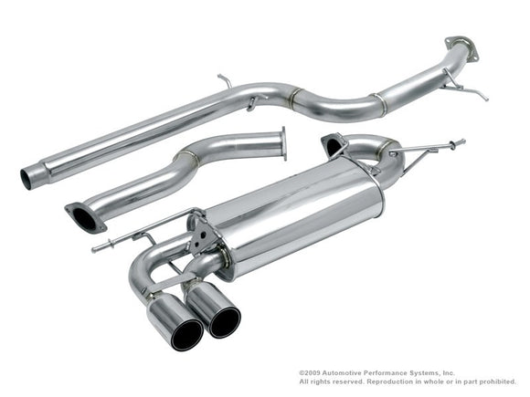 NEUSPEED Stainless Steel Cat-Back Back Exhaust - VW Mk5 Rabbit/Mk6 Golf 2.5L