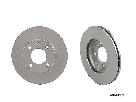 VW MK1/MK2 9.4 Inch vented front brake rotor - each