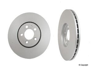 Single OEM 11.3 Inch vented front rotor 5-lug
