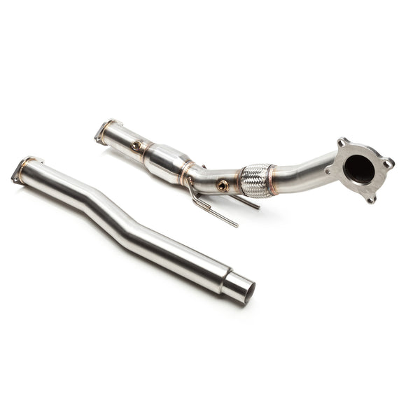 Cobb Catted 3in Downpipe (Stock Cat-Back) - VW MK6 GTI 2010-2014 USDM, 2009-2013 WM