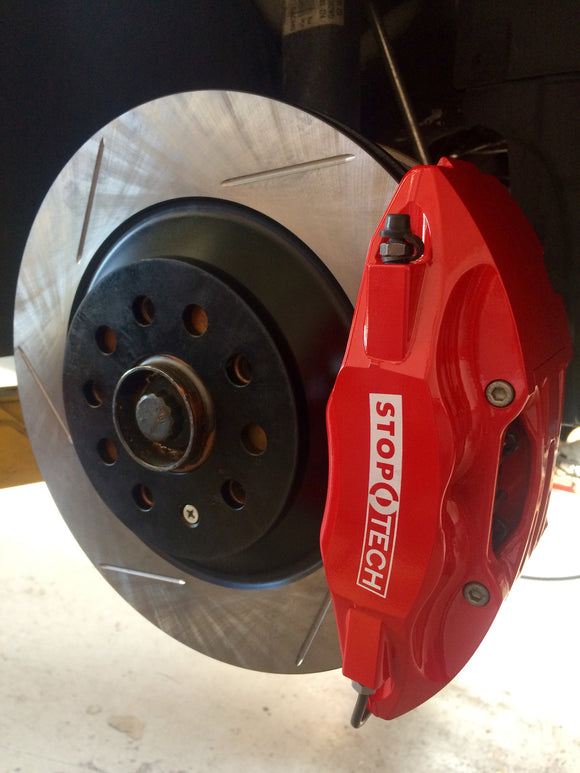 StopTech Big Brake Kit - 328mm x 25mm - VW MK5 & MK6 Golf & Jetta