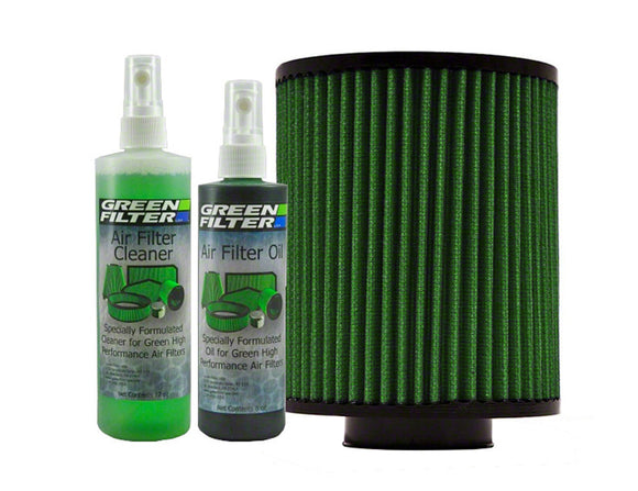 Green Filter Recharge Oil & Cleaner Kit - GREEN COLOR