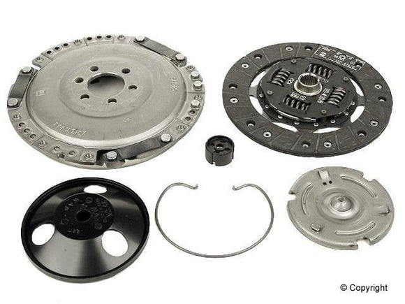 Sachs Clutch Kit 210MM - VW Mk1 Rabbit/Cabriolet/Jetta I/SciroccoII1.8L 8v, Golf, Jetta II 8v