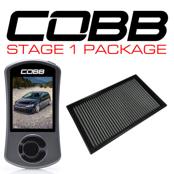 Cobb Stage 1 Power Package - VW MK7 GTI 2015-2020 USDM