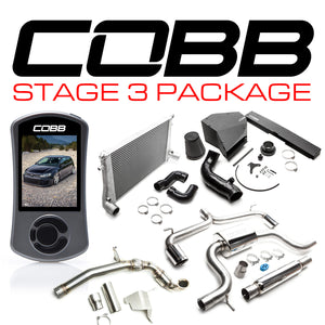 Cobb Stage 3 Power Package - VW MK7 GTI 2015-2019 USDM