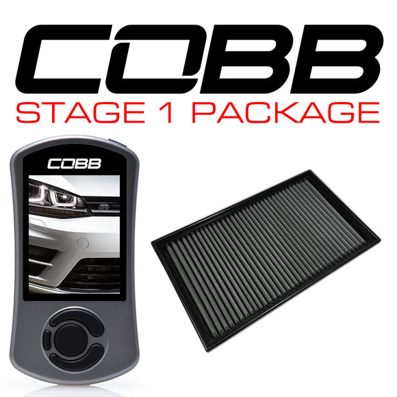 COBB STAGE 1 POWER PACKAGE - GOLF R MK7 2015-2018