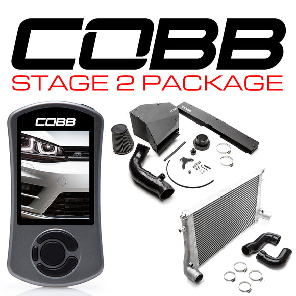 COBB STAGE 2 POWER PACKAGE  - GOLF R MK7 2015-2018