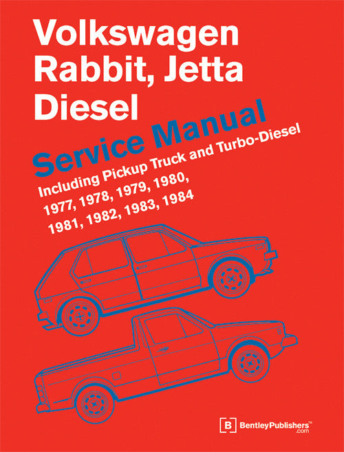 Bentley Repair Manual - VW Mk1 Rabbit/Jetta Diesel 77-84