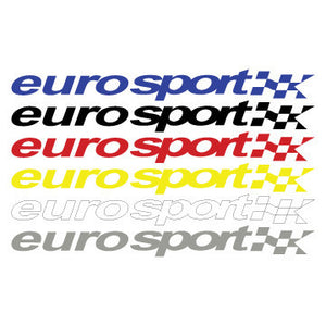 "EURO SPORT 34"" DECAL - SOLID"