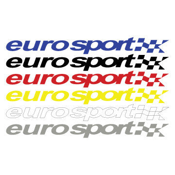 "Euro Sport 34"" Decal"