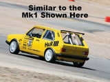 North Viking RACE Touring Cup Wing - Mk2 Golf