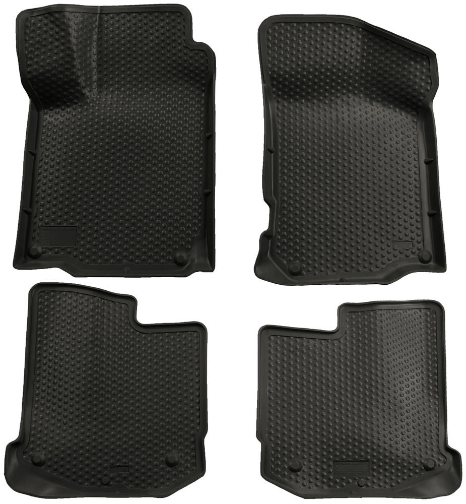 Husky Liners Classic Style Black Front Back Seat Floor Mats