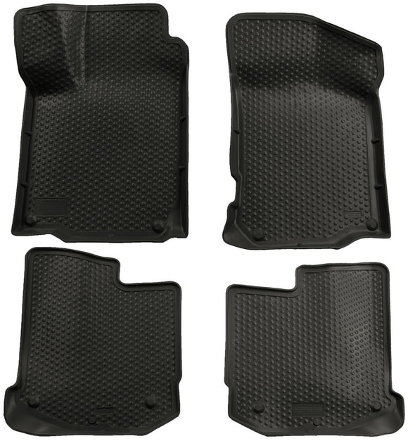 Husky Liners Classic Style Black Front & Back Seat Floor Mats - 2000-2004 VW Jetta