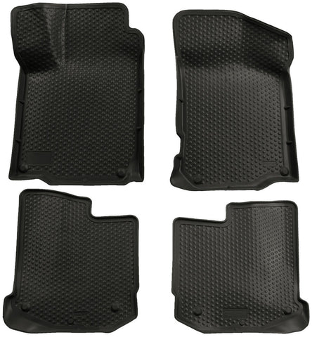 Husky Liners Classic Style  Black Front & Back Seat Floor Mats - 2000-2005 VW Mk4 Golf/Gti