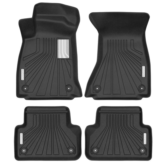 MOGO Luxury Floor Liners - Audi A4 2017-2018
