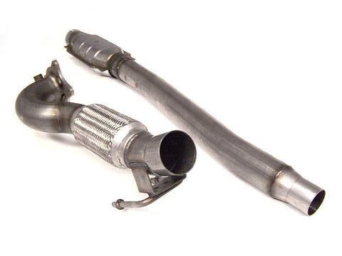 "Euro Sport Stainless Steel 3"" Downpipe with Catalytic - VW Mk5/MK6 2.0T / Audi A3 2.0T"