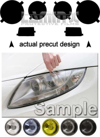 Lamin-x VW Golf , GTI, Jetta II (85-92) Quad Round Headlight Covers