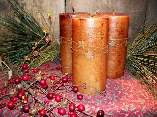 Star Pillar Candles