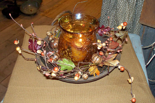 Fall Twig Wreath/Candle Ring