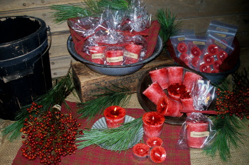 Christmas Punch Votives & Tea Lights