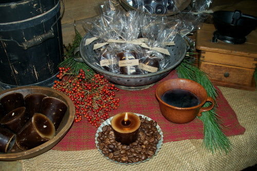 Coffee Shoppe Votives & Tea Lights