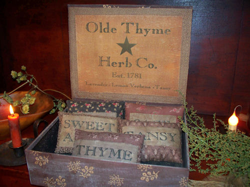 Primitive Fabric Herb Box
