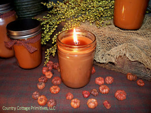 Pumpkin Apple Butter Jar Candles