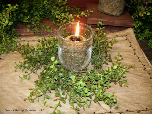 Pepper Grass Wreath/Candle Ring