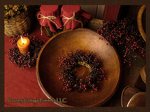 Berry Candle Ring
