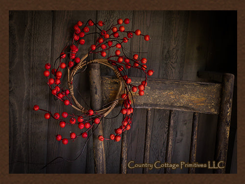 Dry Berry Wreath