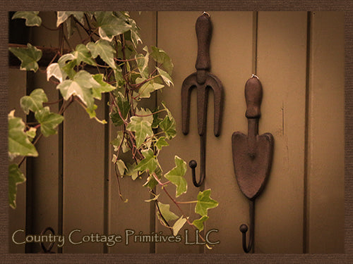 Cast Iron Garden Tool Hook
