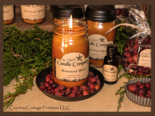 Homestead Blend Jar Candles