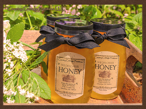 Golden Wildflower Honey