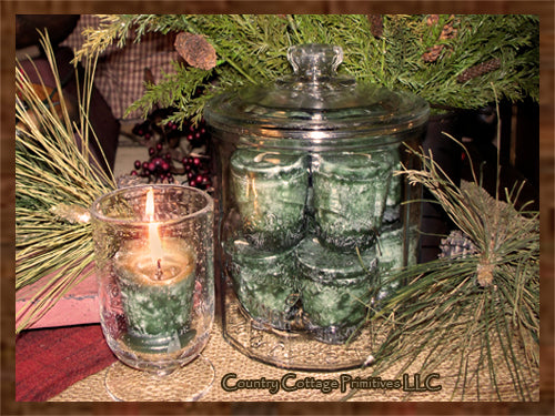 Piney Woods Votives