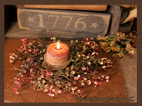 Pepper Grass Candle Ring/Wreath