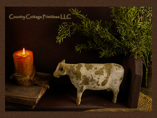 Rustic Cow