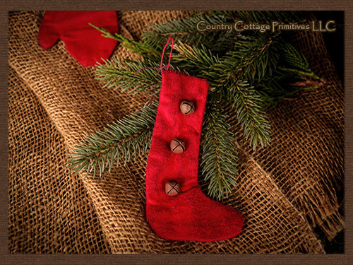 Red Stocking Ornament