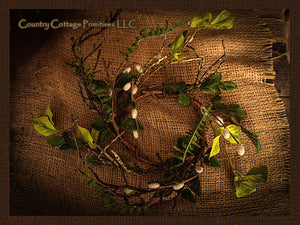 Day Dew Wreath/Candle Ring