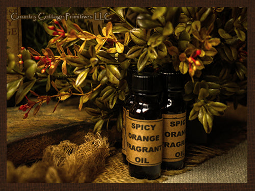 Spicy Orange Fragrance Oil