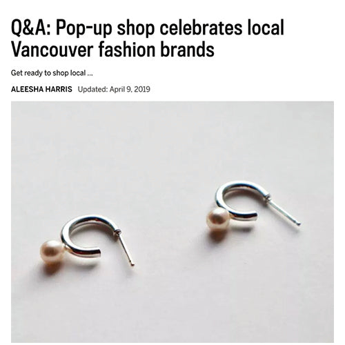 The Vancouver Sun, April 2019 (Cora Mini Hoops)