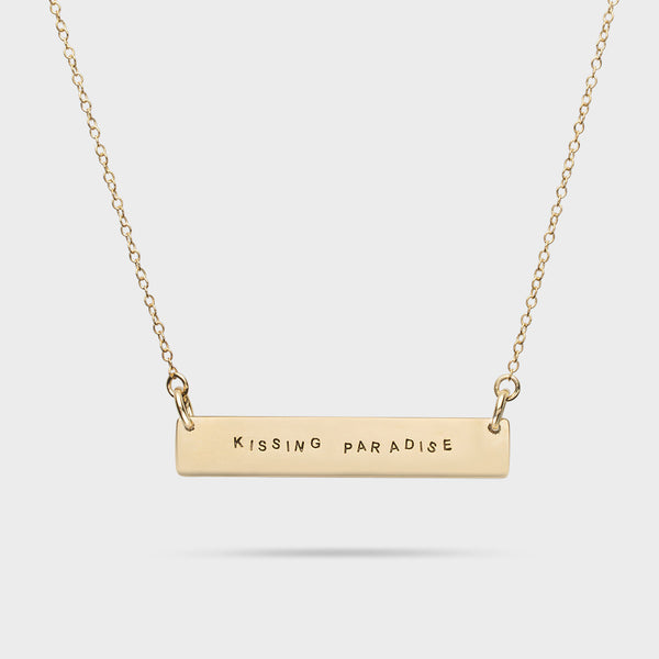 K.P. Bar Necklace