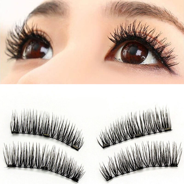 3 Magnets Reusable False Lashes